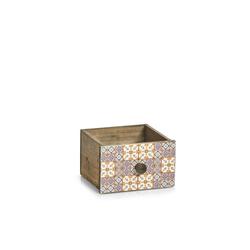 HTI-Living Holzkiste Schubladenbox Holz Mosaik, Schubladenbox 18.5 cm x 11.5 cm