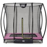 EXIT TOYS EXIT Silhouette Ground Rechteckig 153x214 (5x7ft) + Sicherheitsnetz (Pink)