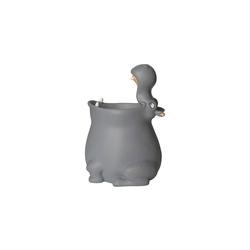 MAGS Dekokorb Stifteköcher Hippo grau