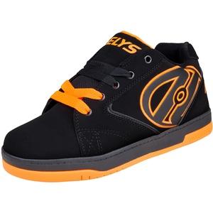 Heelys Propel 2.0 (770506), Unisex Kinder Sneakers , Schwarz - Schwarz (Schwarz/Orange) - Größe: 32 EU ( 13 UK )