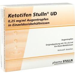 KETOTIFEN Stulln UD Augentropfen Einzeldosispip. 4 ml