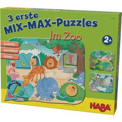 Haba Puzzle 3 erste Mix-Max-Puzzles - Im Zoo, Puzzleteile