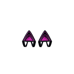 RAZER Kitty Ears Neon Kopfhörer Zubehör Kitty Ears Katzenohren rosa