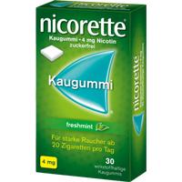 Nicorette Freshmint 4 mg Kaugummi