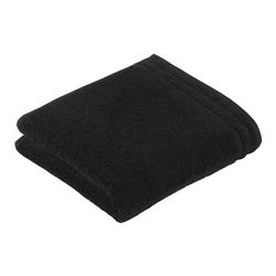 Vossen Handtuch Calypso Feeling in schwarz, 50 x 100 cm