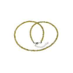 Bella Carina Perlenkette Opal gelb 3,5 mm
