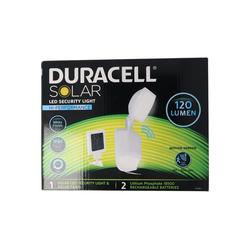 Duracell LED Gartenleuchte Duracell LED Solar Sicherheitsleuchte mit 120 Lume