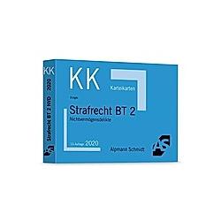 Alpmann-Cards  Karteikarten (KK): Karteikarten Strafrecht BT 2. Rolf Krüger  - Buch