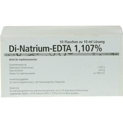 DI NATRIUM EDTA Lösung 1,107%