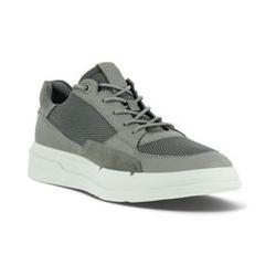 ECCO Soft X Sneaker, Herren, Größe: 43 Normal, Sonstige, Leder, by Lands' End, Wildtaube - 43 - Wildtaube