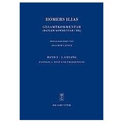 Text und Übersetzung. Homer  - Buch