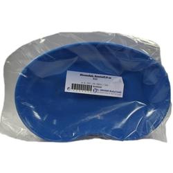 Nierenschale Kunststoff blau