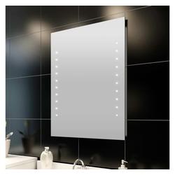 vidaXL Spiegel vidaXL Badspiegel mit LED-Leuchten 50×60 cm