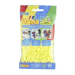 HAMA Bügelperlen Midi - Pastell Gelb 1000 Perlen 207-43