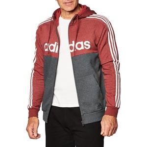 adidas Herren M E Cb Hd Tt Legred Kapuzenpullover, Erbe Rot Mel/Weiß, L