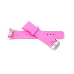 vhbw Armband passend für Samsung Gear Fit 2 SM-R360 Smartwatch, Pink, Silikon Ersatzarmband