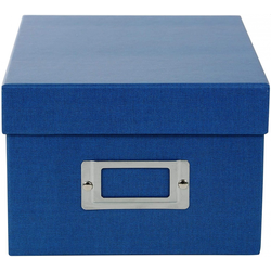 Goldbuch 85 975 Aufbewahrungsbox Fotobox Bella Vista blau