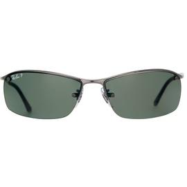 Ray Ban Top Bar RB3183 gunmetal / green classic polarized
