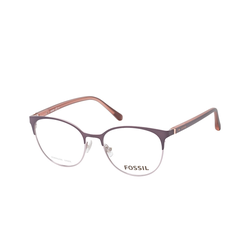 Fossil FOS 7041 FRE, inkl. Gläser, Cat Eye Brille, Damen