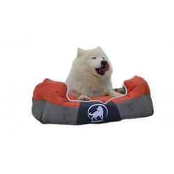 Aquagart® Hundebett orange L 75 x 60cm Hundekissen Hundebetten Hundesofa