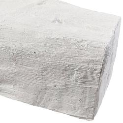 HOMESTAR Dekorpaneele Länge 2 m, Holzimitat, weiß weiß