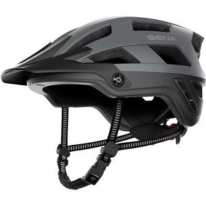 Sena Adult M1 Mountainbike Helm, Mattgrau, L