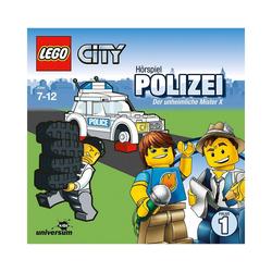 LEGO® Hörspiel CD LEGO City 01 - Polizei: Der unheimliche Mister