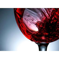 Platzset, Tischsets I Platzsets - Rotwein Glas - 12 Stück aus hochwertigem Papier 44 x 32 cm, Tischsetmacher, (12-St)