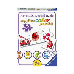Ravensburger Puzzle my first Color Puzzle, 6 x 4 Teile, Alle meine, Puzzleteile