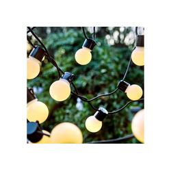 BUTLERS Lichterkette SUNSET Lichterkette 24 Lichter Outdoor Länge 11m