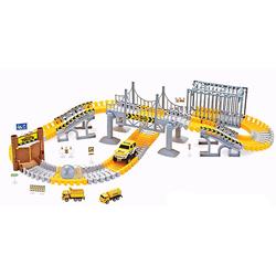 Amewi Spielzeug-Auto RC Magic Traxx Baustelle 160-teilig mit Fahrzeug