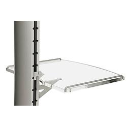 SMS Flatscreen Shelf M/L Plexi