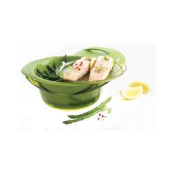 mastrad Küchenhelfer-Set Silikon Dampfgarer