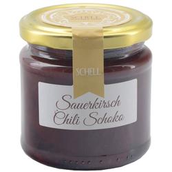 Schell | Sauerkirsch-Chili-Schoko-Konfitüre
