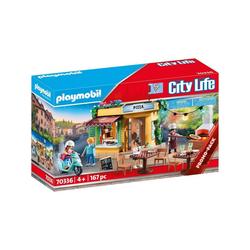 Playmobil® Spielwelt PLAYMOBIL® 70336 - City Life - Pizzeria mit Gartenrestaurant