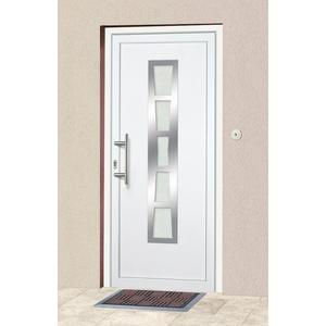 KM Zaun Haustür K640, BxH: 98x198 cm, weiß, in 2 Varianten