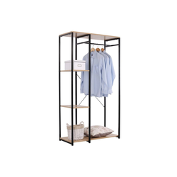 HTI-Line Kleiderschrank Begehbarer Kleiderschrank Mona L Pflegeleichte Oberflächen