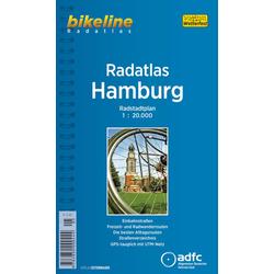 Bikeline Radatlas Hamburg 1 : 20 000 als Buch von