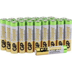 GP Batteries Super Micro (AAA)-Batterie Alkali-Mangan 1.5V 24St.