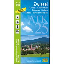 Zwiesel 1 : 25 000
