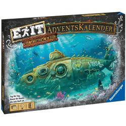 Ravensburger Spiel, EXIT Adventskalender 2020 - Das gesunkene U-Boot