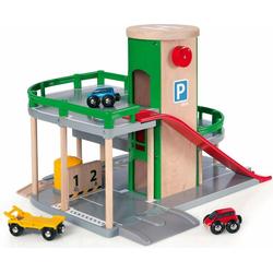 BRIO® Spiel-Parkhaus Brio WORLD Parkhaus, Straßen & Schienen