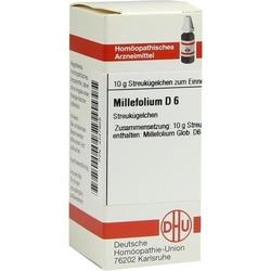 MILLEFOLIUM D 6 Globuli 10 g