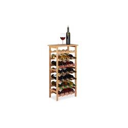 relaxdays Weinregal Weinregal für 28 Flaschen