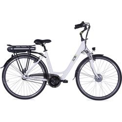 LLobe E-Bike Metropolitan JOY weiß 8Ah Damen Damenfahrräder Fahrräder Zubehör