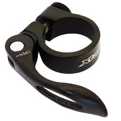 Sattelstützklemme ø = 34,9 mm, schwarz mit Schnellspanner