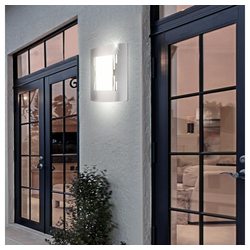 etc-shop LED Außen-Wandleuchte, 7 Watt LED Außenleuchte Balkon Gartenlampe IP44 Wandleuchte Terrasse Weg Beleuchtung