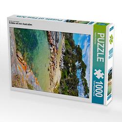 Erlebe mit mir Australien Lege-Größe 48 x 64 cm Foto-Puzzle Bild von Nadine Büscher Puzzle