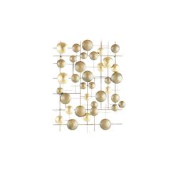 Wanddekoration ¦ gold ¦ Metall