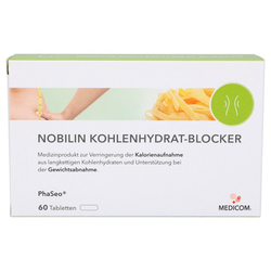 NOBILIN Kohlenhydrat-Blocker Tabletten 60 St